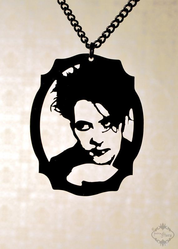 PREORDER  Robert Smith  The Cure tribute by FableAndFury on Etsy, $32.00