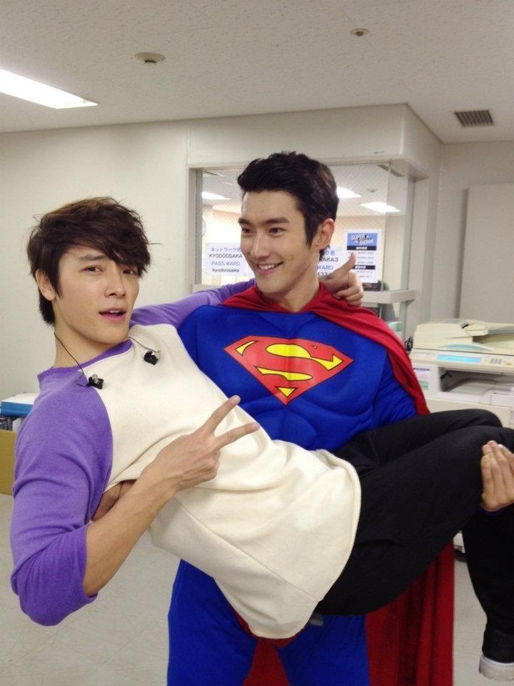 Siwon & Donghae haha this makes me laugh