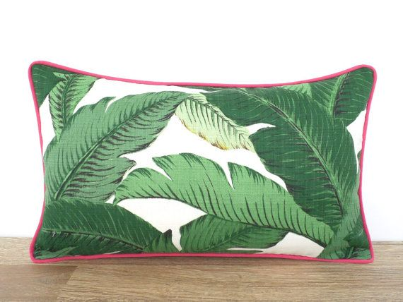Palme Blatt im freien Kissenbezug 20 x 12 tropischen von anitascasa