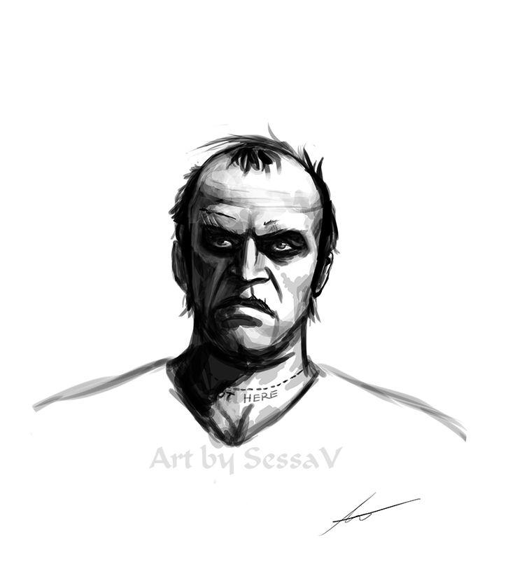 GTA 5 - Trevor Philips 1 by SessaV on DeviantArt