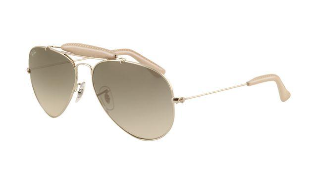 Ray Ban RB3422Q Sunglasses Arista Frame Grey Gradient Polarized