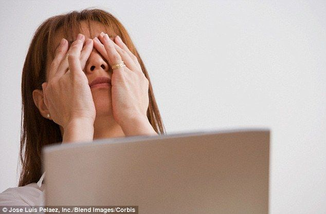 Sixty-five per cent of Americans experience 'digital eye strain' due to staring at computer and smartphone screens for too long, a report revealed. This affliction entails dry and irritated eyes, blurred vision, eye fatigue, neck and back pain and headaches