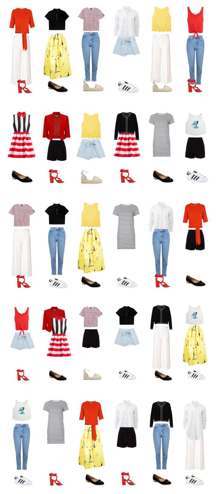 В этой статье я покажу вам, как составить капсульный гардероб на лето, который подойдет и для отдыха, и для работы. Вам понадобится всего лишь...
