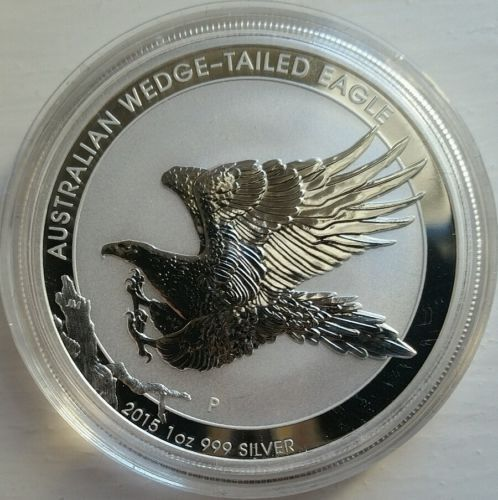 1oz 2015 australian #wedge-tailed #eagle 999 fine #silver coin,  View more on the LINK: http://www.zeppy.io/product/gb/2/172181053393/