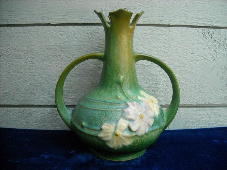 51 Best Roseville Images On Pinterest Roseville Pottery Antique