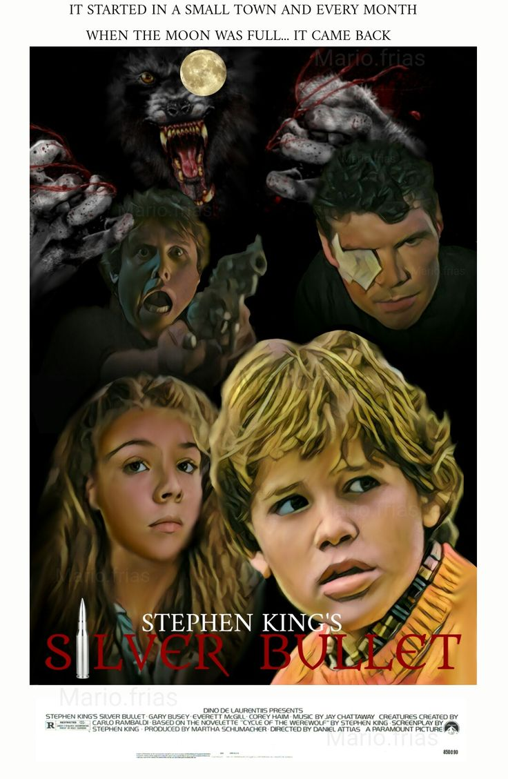 Silver Bullet Stephen King Horror movie werewolves fan made edit MF