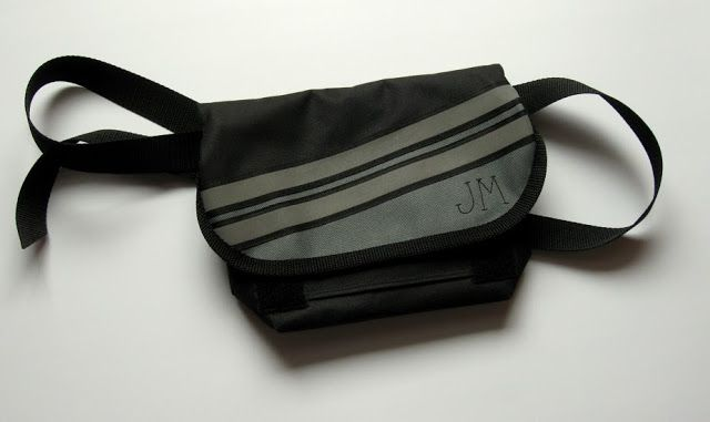 lukola handmade // Torebka na biodro - rozmiar L - męska // Hip bag - large size - men's