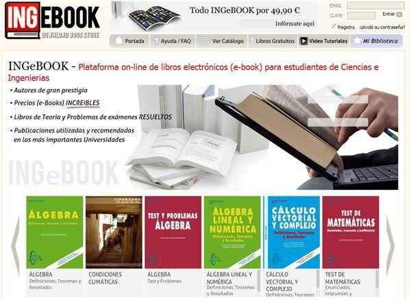 Ingebook – Libros universitarios en español, de ciencia e ingeniería