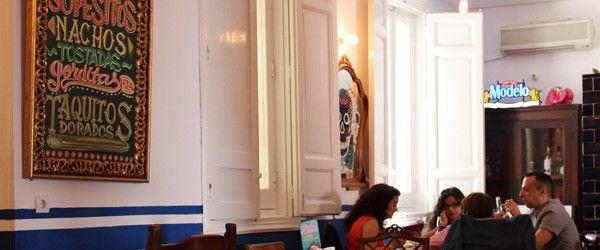 María Bonita Taco Bar Teléfono: +34 910.09.63.10/+34 608.83.39.20 Horario: lunes a sábado de 13:30 a 16:00 hrs. y de 20:30 a 1:00 hrs. Precio medio: 15€ Dirección: Duque de Liria, 9, Madrid.