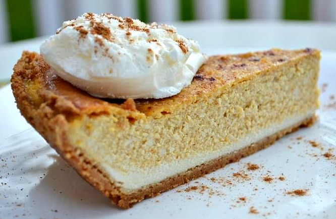 - No one should miss out! #Vegan #Pumpkin #Cheesecake