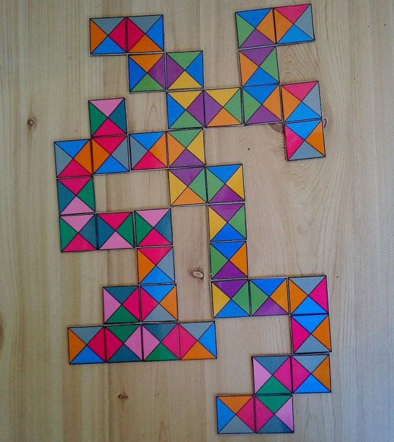Летняя распродажа Уникальный Домино Плитка геометрический узор на ShantyBanty