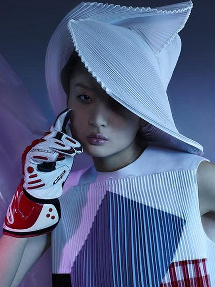 Liu Xu Lights Up 'Cyber Girl' Lensed By Nick Thompson For Archetype Magazine #3 S/S 2015