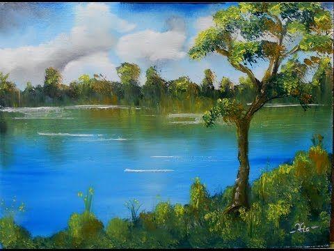 Olajfestés kezdőknek, III. rész (Felhők és víz)