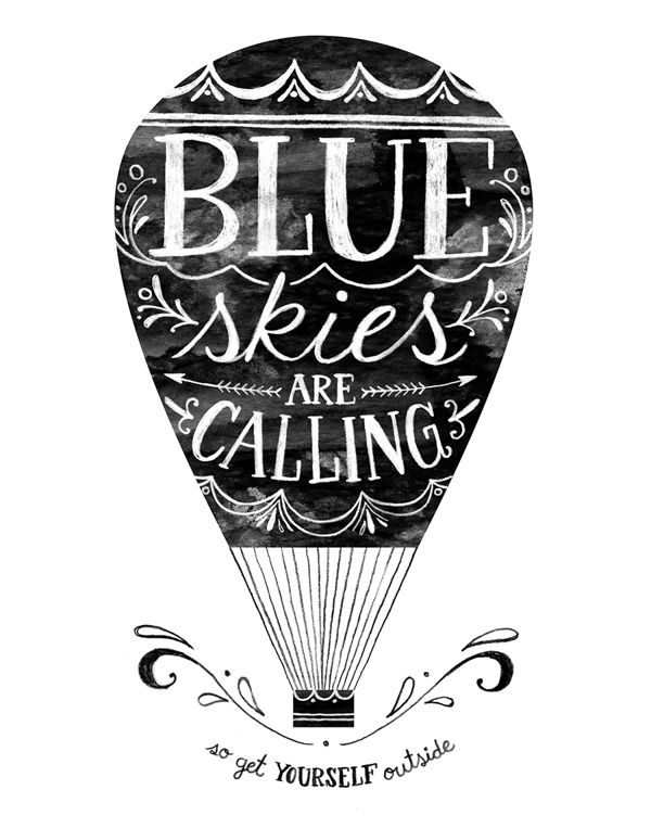 Out, Up  Over. by Livy Long, via Behance