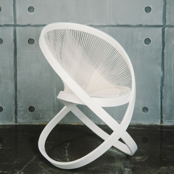 Torsion Rocking chair by Natalie Musorina