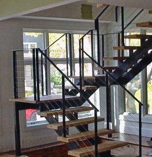 escaleras metalicas diseo industrial y elegante