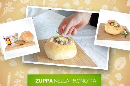 Lasciamo fuori il #freddo e scaldiamoci con la #Zuppa nella Pagnotta!  Scopri le #Ricette di Silvia: http://www.dimmidisi.it/it/dimmicomefai/le_ricette_di_silvia/article/zuppa_nella_pagnotta.htm - #dimmidisi #cucina #ricetta #recipe #cooking #cuisine #inverno #soup #winter
