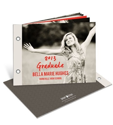 Graduation Announcements & Invitations -- You'll Flip Photo Book. Create a keepsake photo book for your friends and family instead of sending the same old graduation announcements and invitations everybody else sends! This twelve-page book is filled with photos and fun memories of your high school years. $3.29ea/72qty
