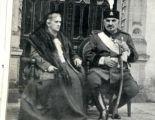 King Nikola and Queen Milena in exile. 1921.