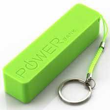 This power bank is good for charging, mobile phones, smartphones, android, tablets and iPod, I phones, portable music devices. You can easy to carry & friendly use. 2600mAh battery backup, micro USB connector fast charging capacity and multicolor option like pink, green, blue, yellow etc.    Products Information    •High-quality &  good plastic  •Multi colors  •Fast charging capacity  •2600 mAh  backup  • Very Light Weight & slim   •Compatible with iPod, iPhone, and your an...
