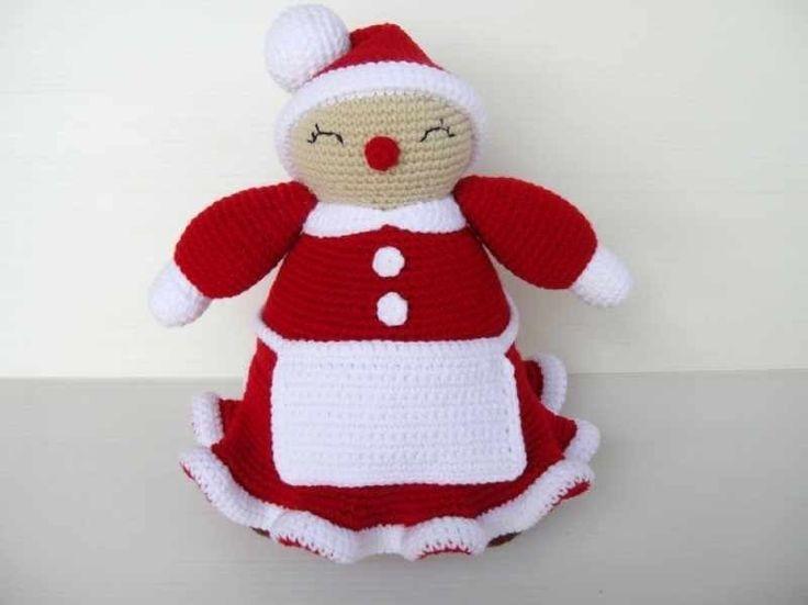 Easy Christmas Amigurumi : 49 best christmas mrs. claus crochet images on pinterest crochet