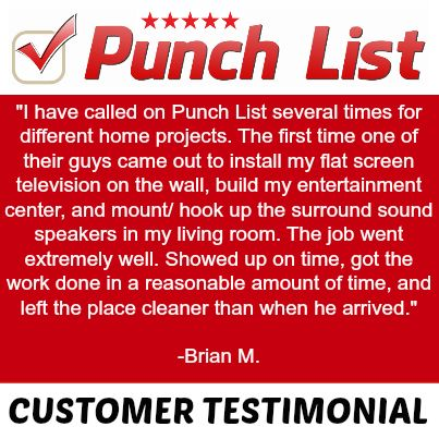 Best Punch List Testimonials Images On