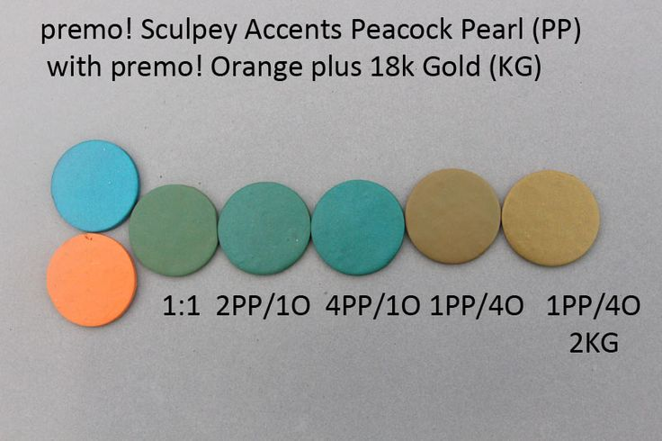 Premo! Color Recipes from Syndee Holt - Peacock Pearl & Orange