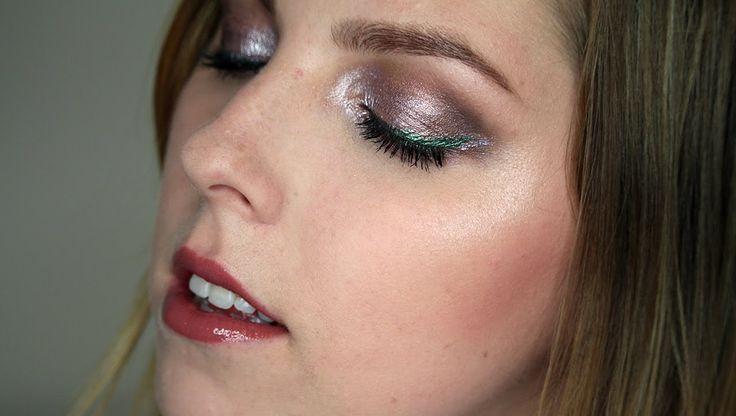 Přirozené Oči se Zajímavými Linkami Makeup Tutorial