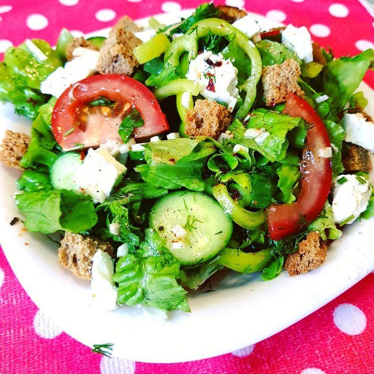 очень легкие рецепты салатов с фото после этого