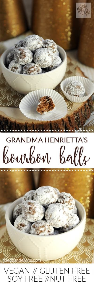 These boozy Bourbon Balls have been a Christmas tr…