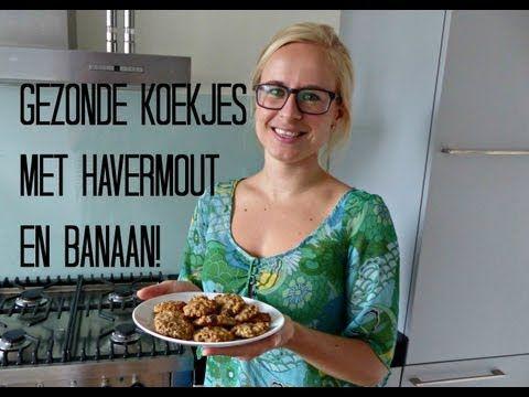 Recept: Gezonde Koekjes met Havermout en Banaan