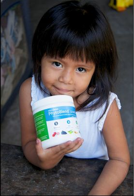 Mannatechs 2014 Donation Equal to 20 Million Servings of PhytoBlend Powder to Help Fight Global Childhood Malnutrition