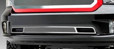 T-REX Dodge Ram 1500 Upper Class, Formed Mesh Grille, Bumper, Overlay, 1 Pc, Polished Stainless Steel, Fits only on Express Models. - Pt # 55458