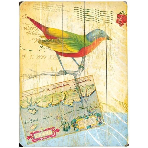Magnificent Wooden Bird Wall Decor Gallery - Wall Art Design ...