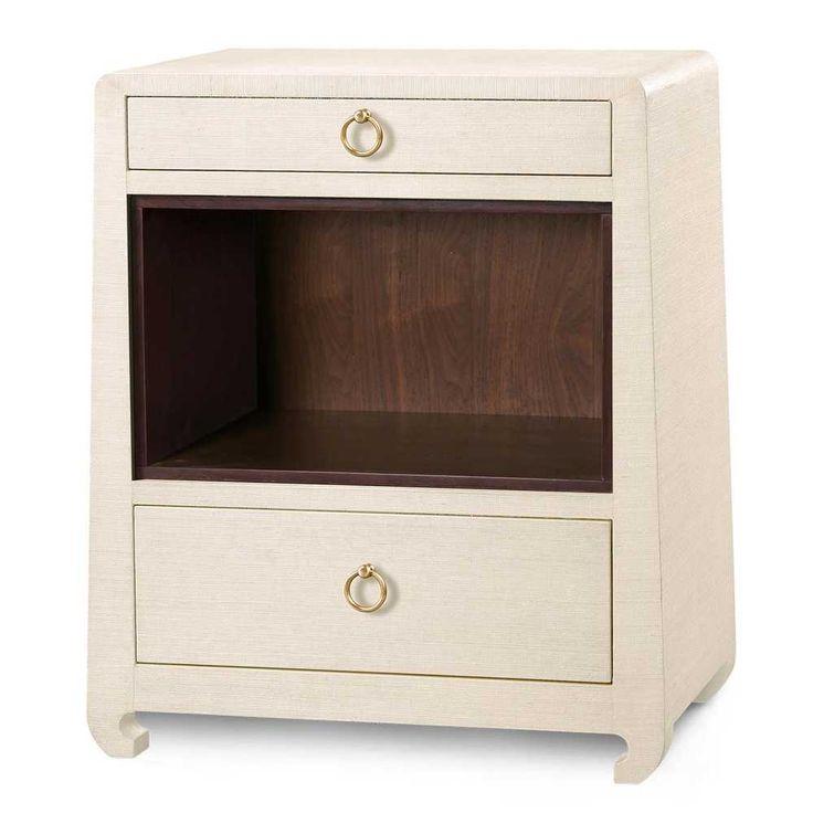Bungalow 5 Ming 2-Drawer Side Table - Natural | Bedside Tables & Nightstands | Bedroom | Furniture | Candelabra, Inc.