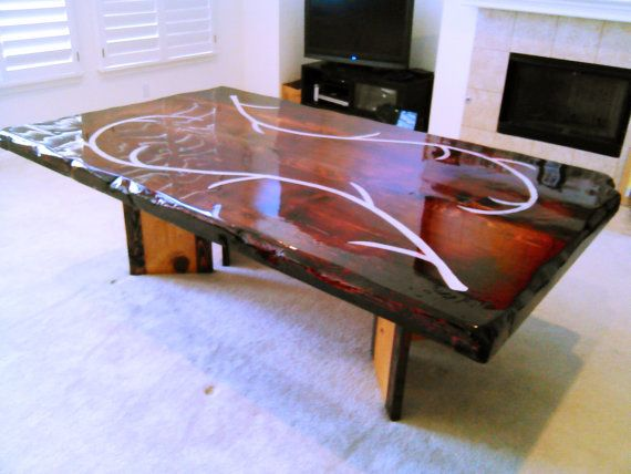 579 Best Resin And Epoxy Furniture Images On Pinterest