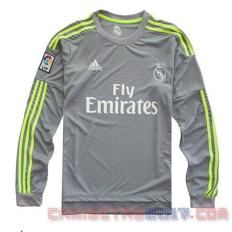 Camiseta manga larga Real Madrid 2015 2016 segunda