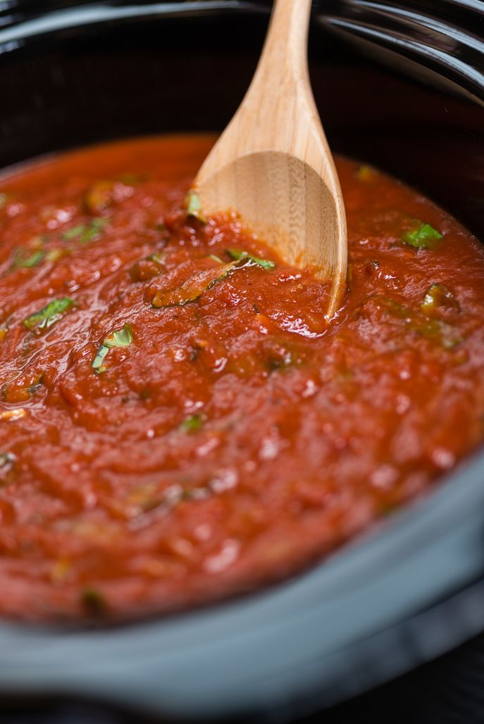 Slow Cooker Marinara Sauce from Everyday Good Thinking, the official blog of @hamiltonbeach