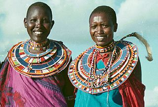 Maasai People- In this Kenyan culture, the women shave their heads to better display multiple flat, beaded collars and dramatic head jewelry.