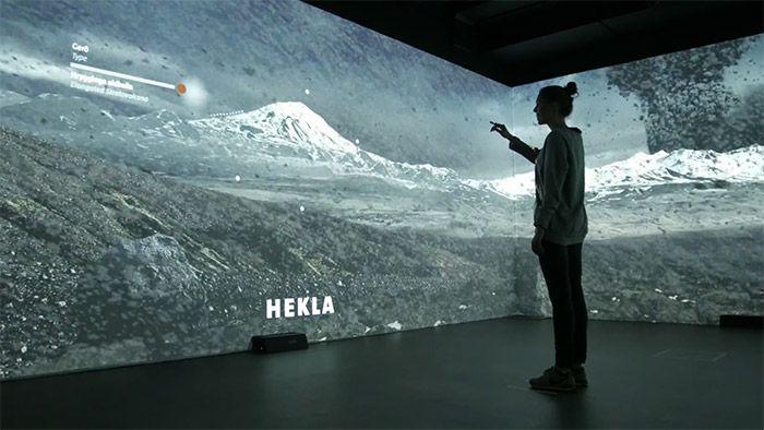 Lava Centre na Islandu má interaktivní expozici plnou vulkánů