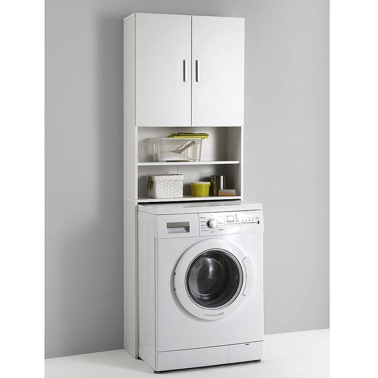 Vintage Waschmaschinen Schrank sorgt f r mehr Platz und Ordnung