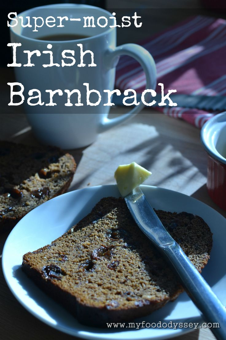 Irish Barnbrack (also called Barmbrack) is a moist fruit cake traditionally prepared for Halloween. Click on link for recipe.