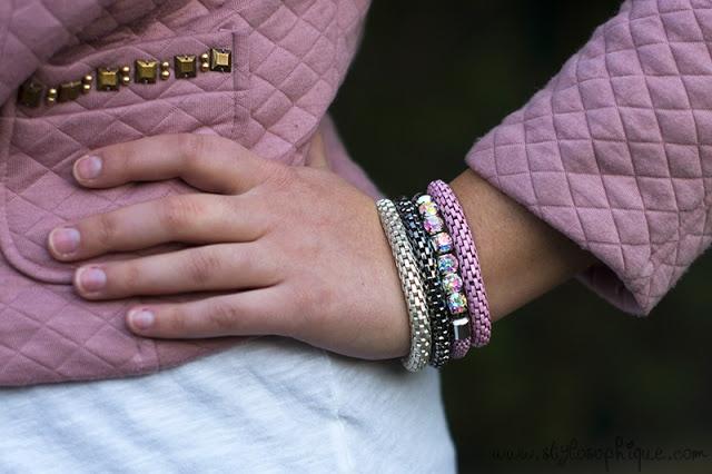 """STYLOSOPHIQUE - Blushy pink""    Bracciali presi da noi!"