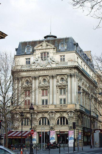 Paris théâtre de la Renaissance