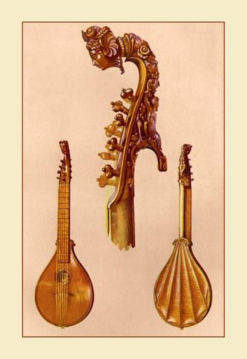 Cetera by Antonius Stradivarius 28x42 Giclee on Canvas