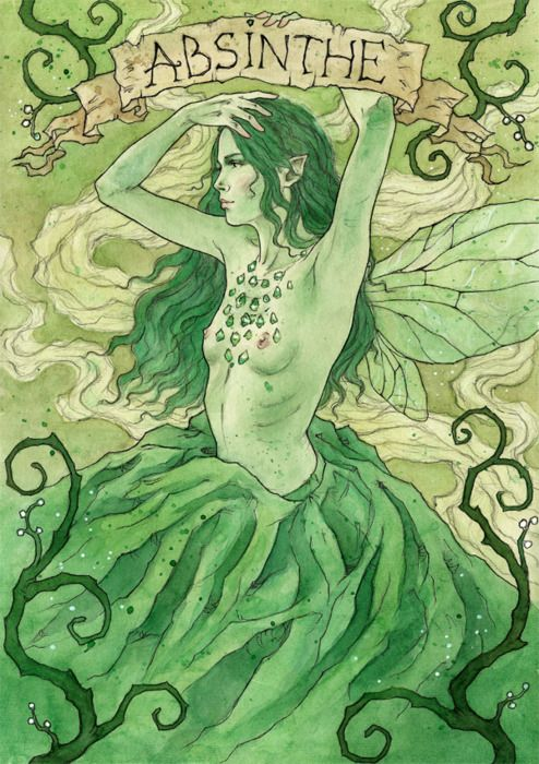"""Where the hell was that mystical faerie when I was sloshed on absinthe?"""