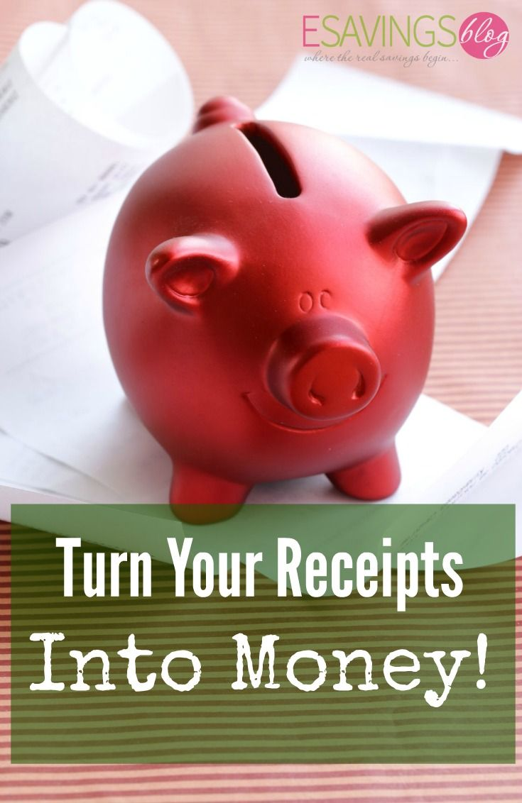 Don't throw away those receips. Check out How to Turn Your Receipts into Money!