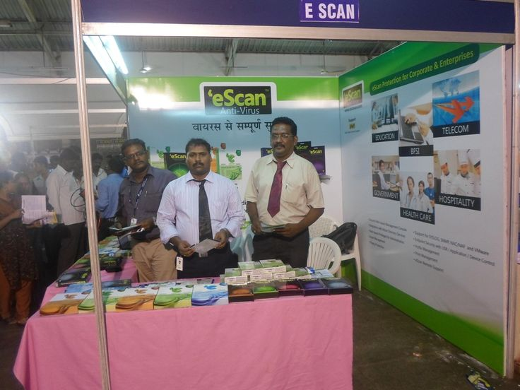 eScan @ EdITA #Computer Exhibition – 2013  - #Tamil Nadu, #India