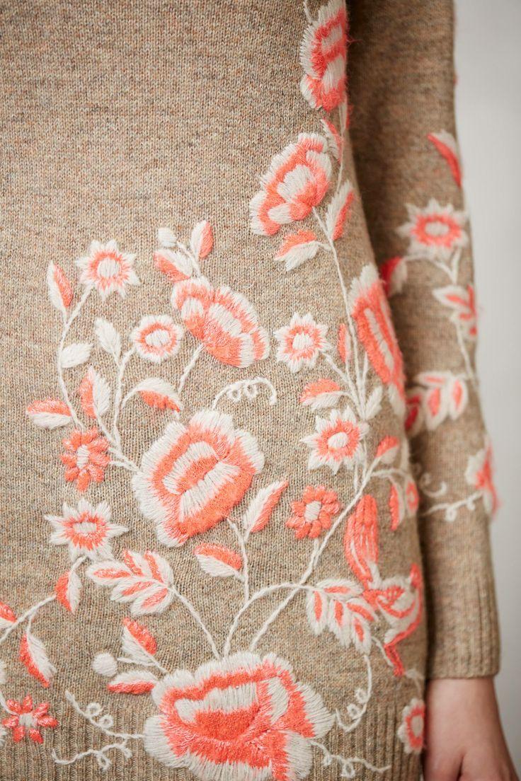 Embroidered Ranunculus Tunic - anthropologie.com