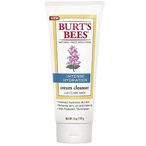 Burt's Bees Intense Hydration Cream Cleanser 6 Ounces